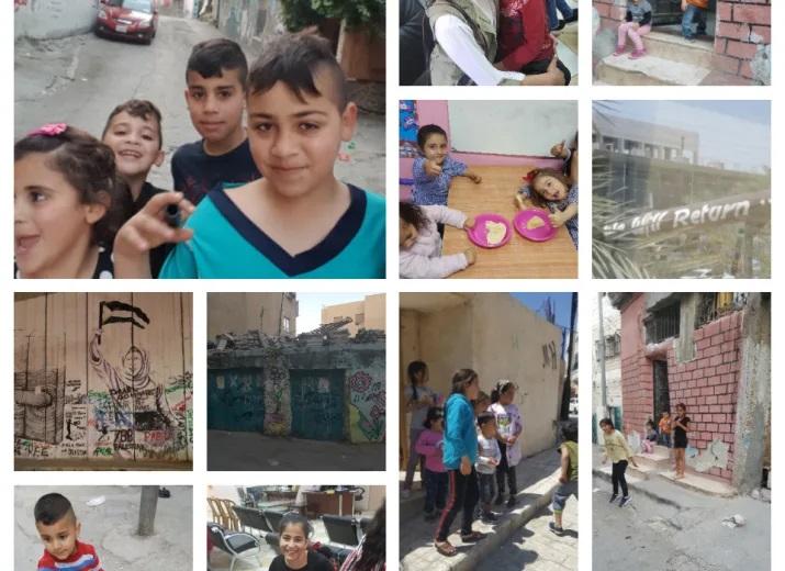 Organisé pour : Association Siraj al-quds , Orphélinat Hébron , Camps de réfugiés